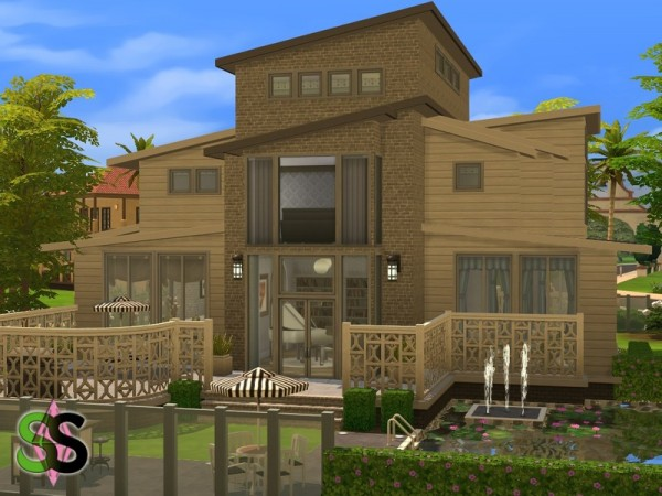 The Sims Resource: Spencers Dwelling (NoCC) by SIMSnippets