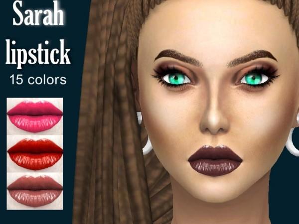 The Sims Resource: Sarah lipstick by Sharareh
