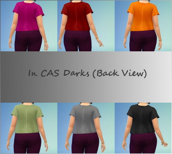 Mod The Sims: Romantic Garden Filigree Shirt Recolor by Thortis
