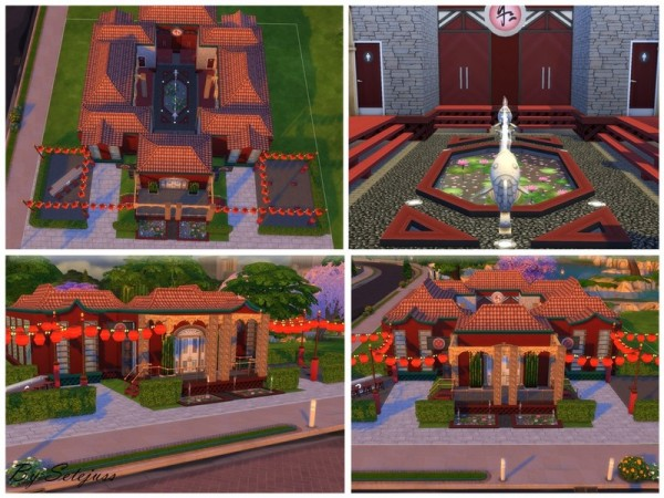 The Sims Resource: Asian Romance (NO CC) by setejuss