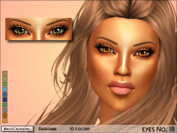 The Sims Resource: Eyes no 18 by MahoCreations