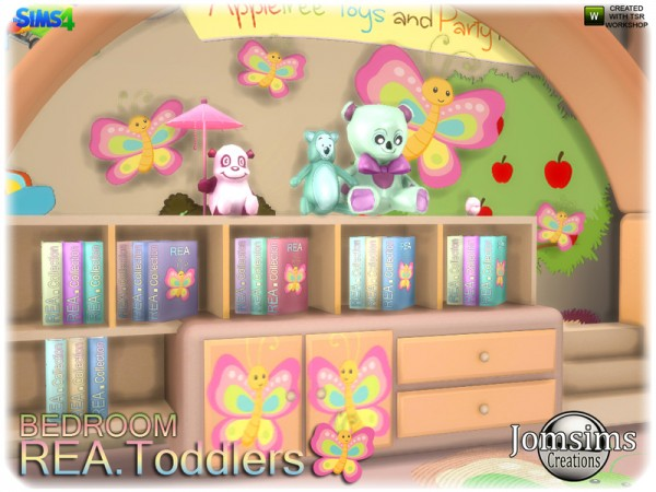 The Sims Resource: Rea toddlers bedroom by jomsims
