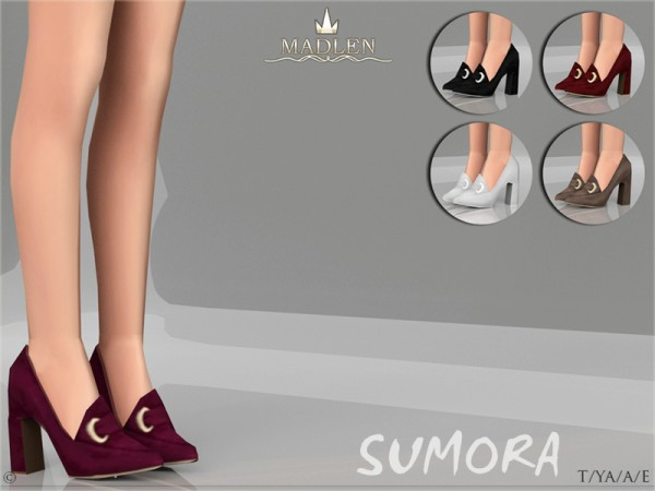 The Sims Resource: Madlen Sumora Shoes by MJ95