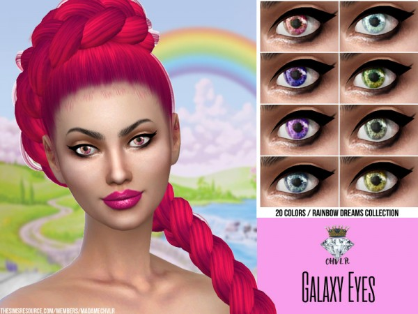 The Sims Resource: Galaxy Eyes by MadameChvlr