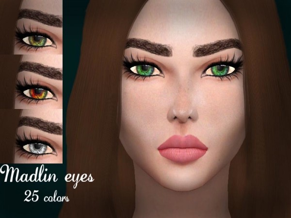 The Sims Resource: Madlin eyes by Sharareh