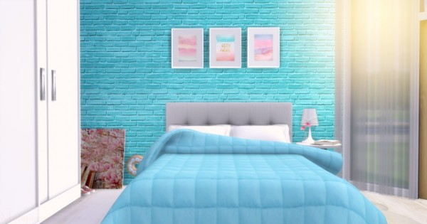 Mony Sims: Blue Girl Room
