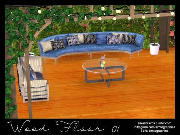 The Sims Resource: Wood Floor 01 by simtographies