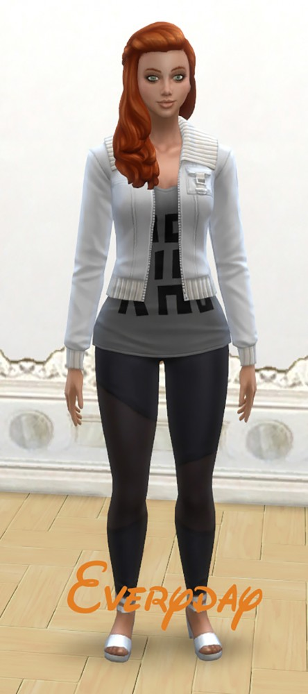 Mod The Sims Emma Scott By Nuttchi Sims 4 Downloads