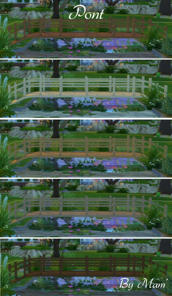 Sims Artists: Over the water