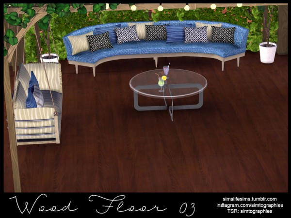 The Sims Resource: Wood Floor 03 by simtographies