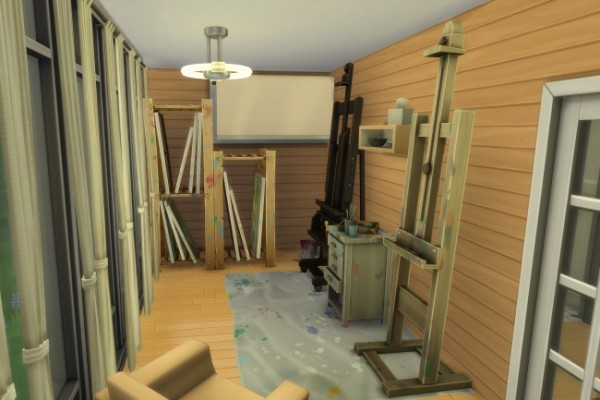Blackys Sims 4 Zoo Painter Dream House By Commari Sims