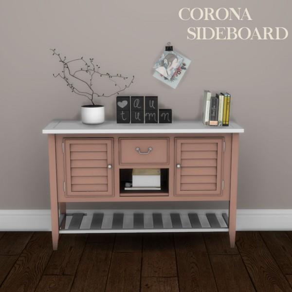 Leo 4 Sims: Corona Sideboard