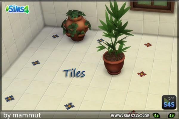 Blackys Sims 4 Zoo: Floor tiles 1 by mammut
