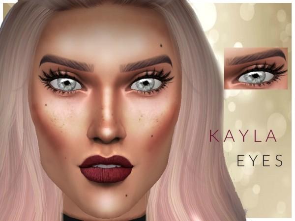 The Sims Resource: Kayla Eyes by cosimetics