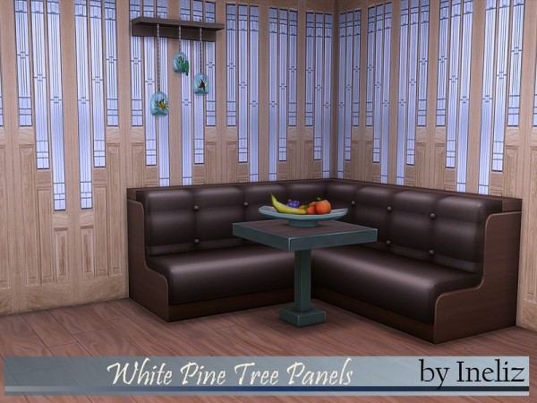 The Sims Resource: White Pine Tree Panels by Ineliz