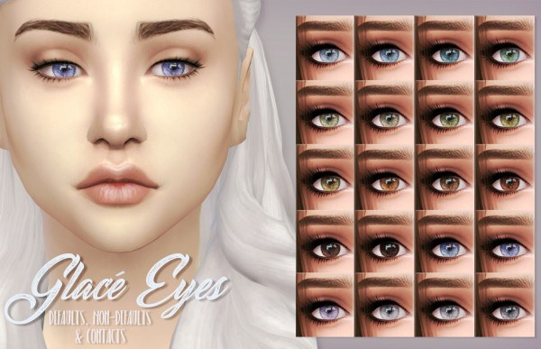 Mod The Sims: Glacé Eyes by kellyhb5