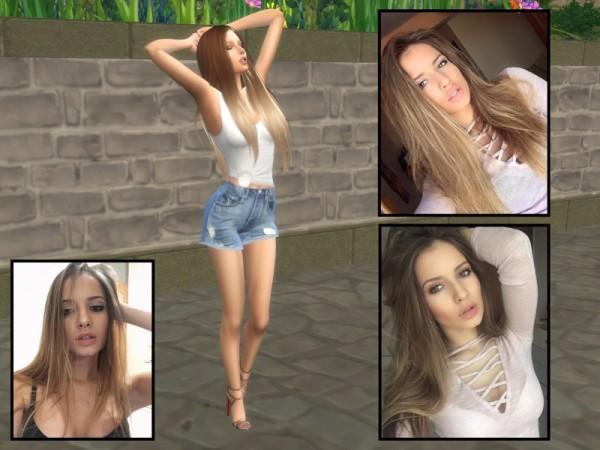 The Sims Resource: Nelina Georgieva by divaka45