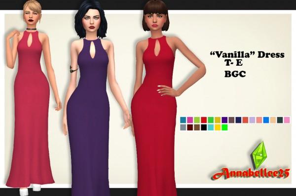 Simsworkshop: Vanilla Dress by Annabellee25