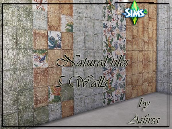 Aifirsa Sims: Natural tiles