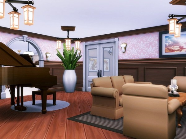 The Sims Resource: Lavender Hill house by MychQQQ