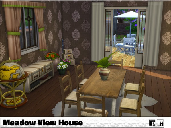 The Sims Resource: Meadow View House by Pinkfizzzzz