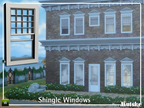 The Sims Resource: Shingle Windows by mutske
