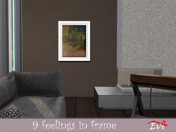 The Sims Resource: 9 feelings in frame by evi
