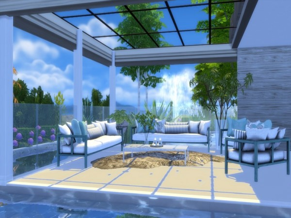 The Sims Resource: Modern Salix house by Suzz86