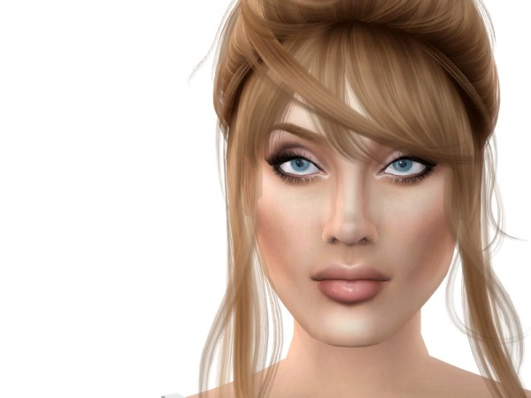 The Sims Resource: Anahi sims models by *Softspoken*