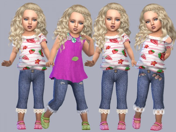 Giulietta Sims: Toddler Jenny Jeans