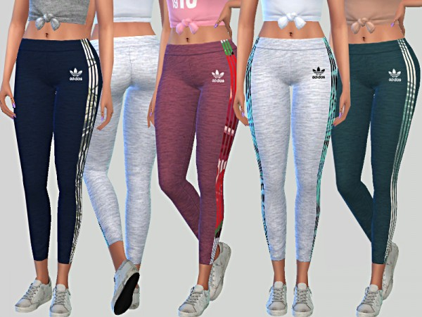 The Sims Resource: Summer Leggings 05 by Pinkzombiecupcake