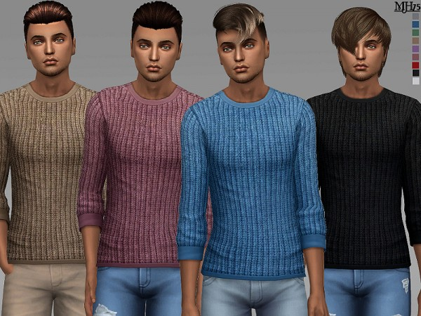 The Sims Resource: Denny Sweaters by Margeh 75