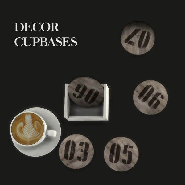Leo 4 Sims: Decor Cupbases