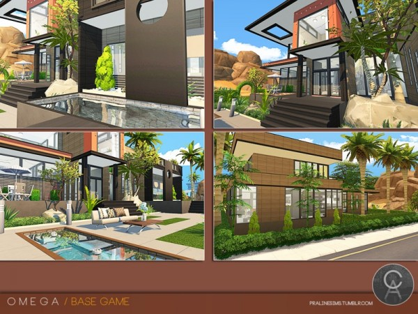 The Sims Resource: Omega house by Pralinesims