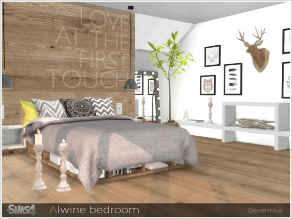 The Sims Resource Alwine Bedroom By Severinka Sims 4