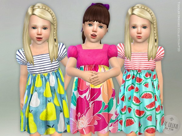 The Sims Resource: Toddler Dresses Collection P33 by lillka