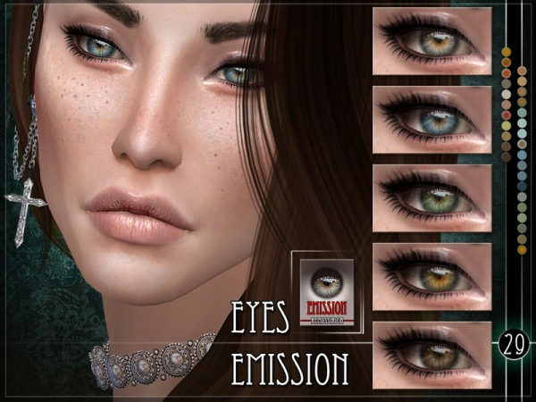 The Sims Resource: Emission Eyes by RemusSirion