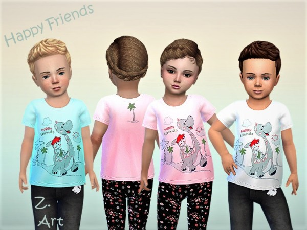 The Sims Resource: BabeZ. funny shirt 25 by Zuckerschnute