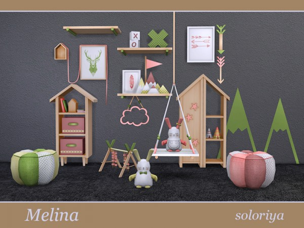 The Sims Resource: Melina Living Room by soloriya