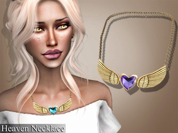 The Sims Resource: Heaven Necklace by Genius666