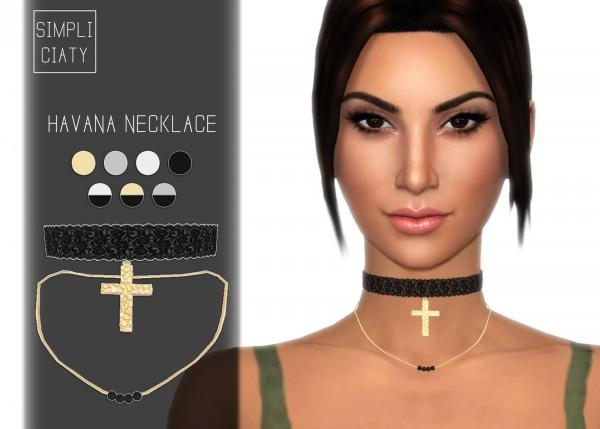 Simpliciaty: Havana necklace