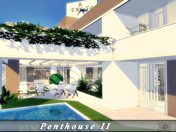 The Sims Resource: Penthouse II by Danuta720