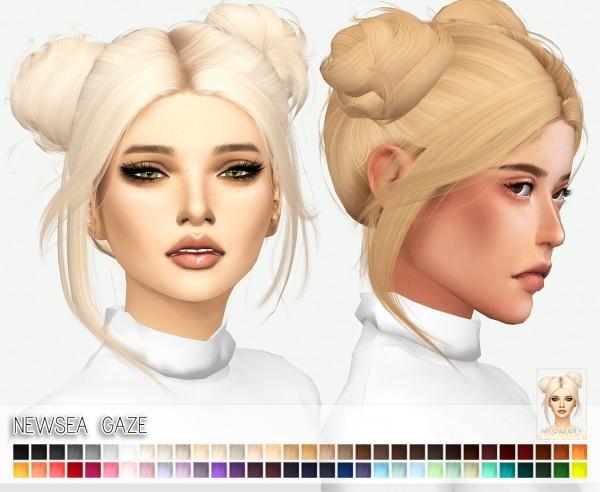 Miss Paraply Newsea S Gaze Hair Retextured Sims 4 Downloads