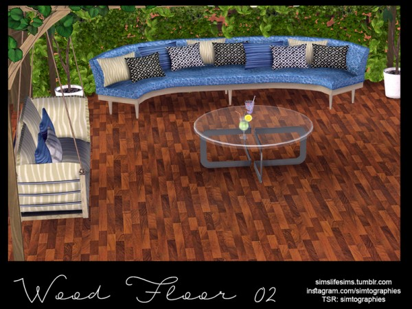 The Sims Resource: Wood Floor 02 by simtographies