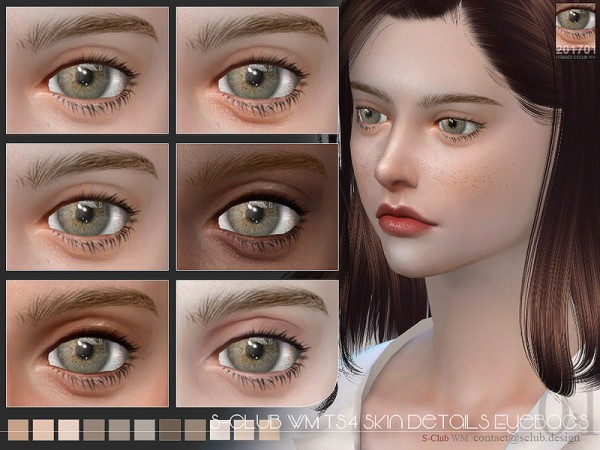 The Sims Resource: Skin Details Eyebags 201701 by S Club