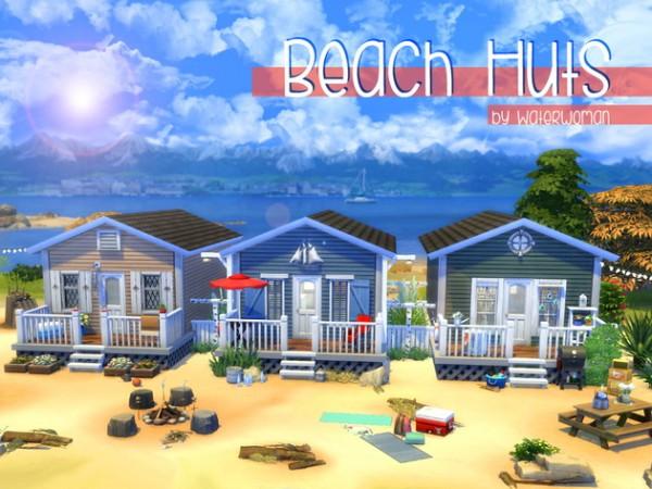 Akisima Sims Blog: Beach huts