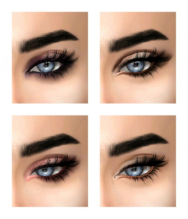 Kenzar Sims: Instagram inspired eyeshadows