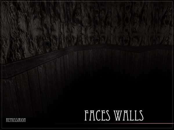 The Sims Resource: Faces Walls by RemusSirion