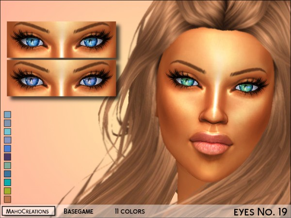 The Sims Resource: Eyes no 19 by MahoCreations