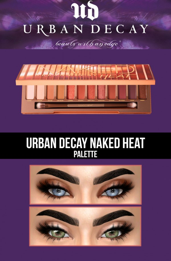 Kenzar Sims: URBAN DECAY Naked Heat Palette